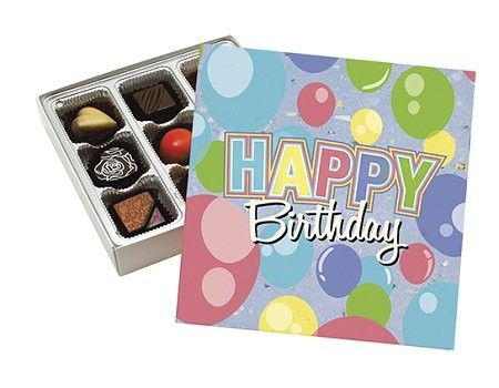 Happy birthday gift box with sugar free assorted chocolate made by happy birthday gift box with sugar free assorted chocolate made by diabetic candy negle Image collections