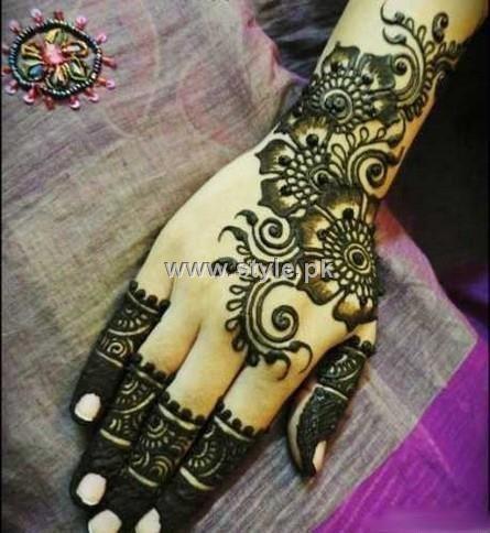 Mehndi designs for girls in pakistan pakistani best arabic also purvi satra purvigala on pinterest rh