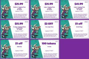 How To Get Free Tickets At Chuck E Cheese