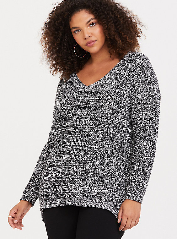 00f8e09ac60 Marled Slouchy Tunic Sweater, Plus Size Sweaters, Cozy Sweaters, Tunic  Sweater, Pullover