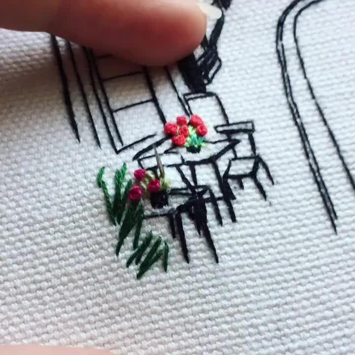 предметы как научиться вышивать человека по фото длится