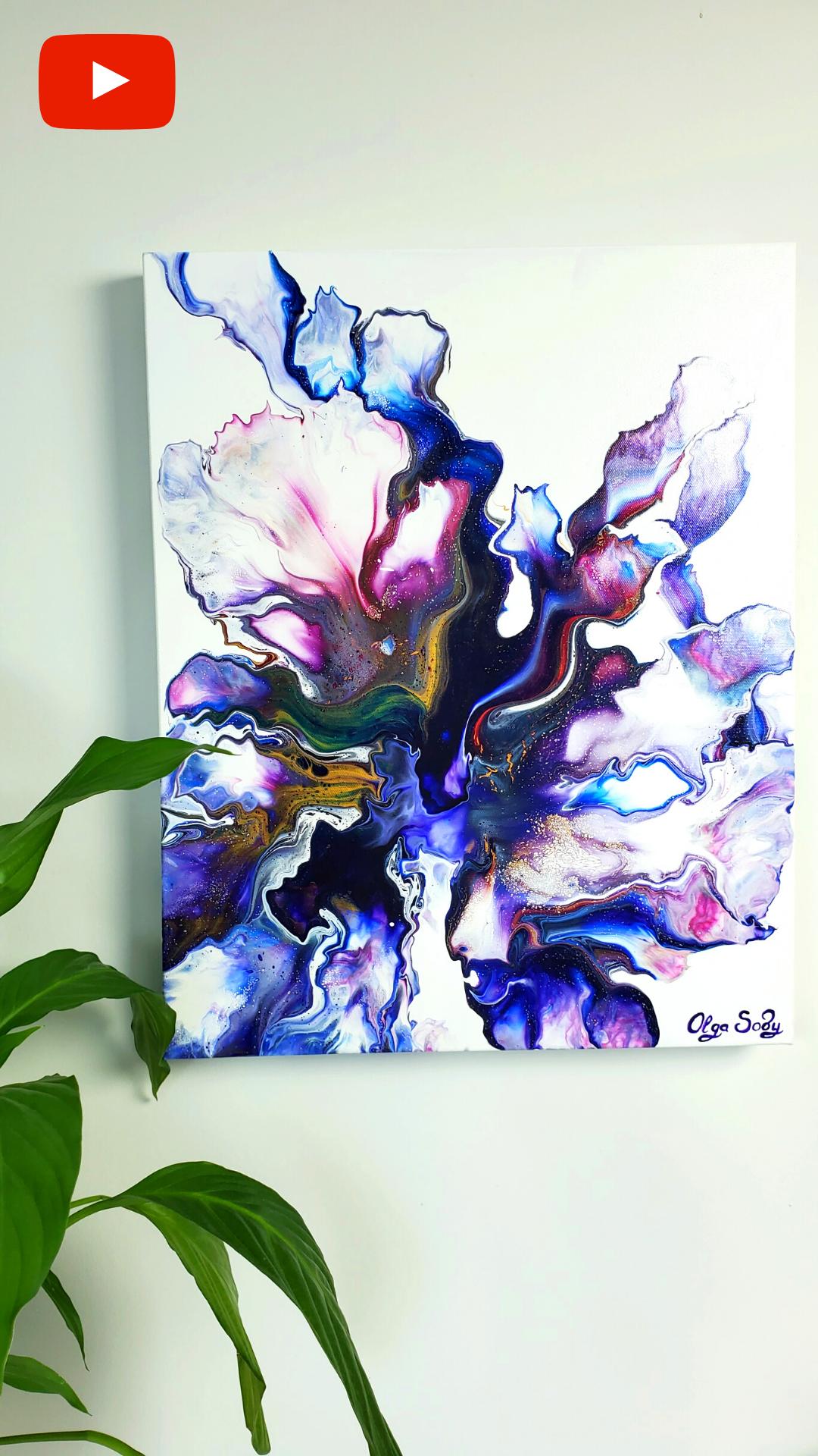 Fluid Paint Art – 10 UNIQUE Acrylic Pour Painting Techniques 😍Acrylic Pouring Compilation -Fluid Art