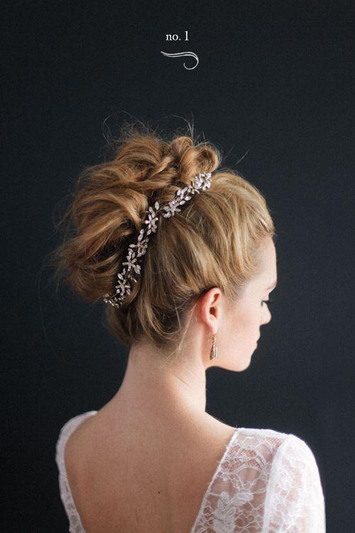 BHLDN + Irrelephant Modern Updos Bridal hair