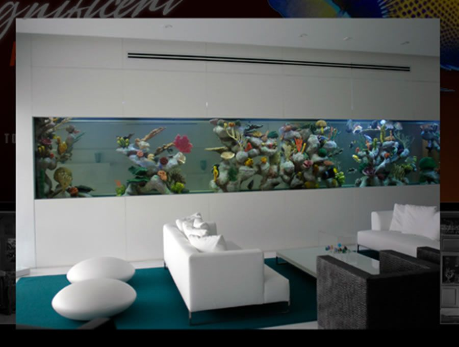 Luxury Penthouse Suite Aquarium Design For Residence Accessories, Custom  Aquariums By Magnificent Aquariums