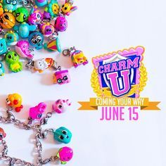 Charm U toys/charms It takes me back to those noisy charm necklaces we used to wear in the 80's. I can't wait to make bracelets for my girls!