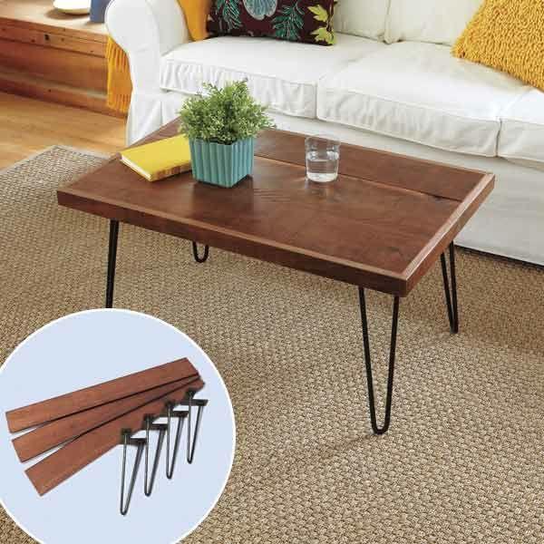 Wohnzimmertisch aus Holz selber bauen - tolle DIY Ideen zum - kleine wohnzimmertische