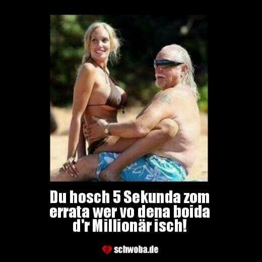 #frauen #geldgeil #millionär #schwäbisch #schwaben