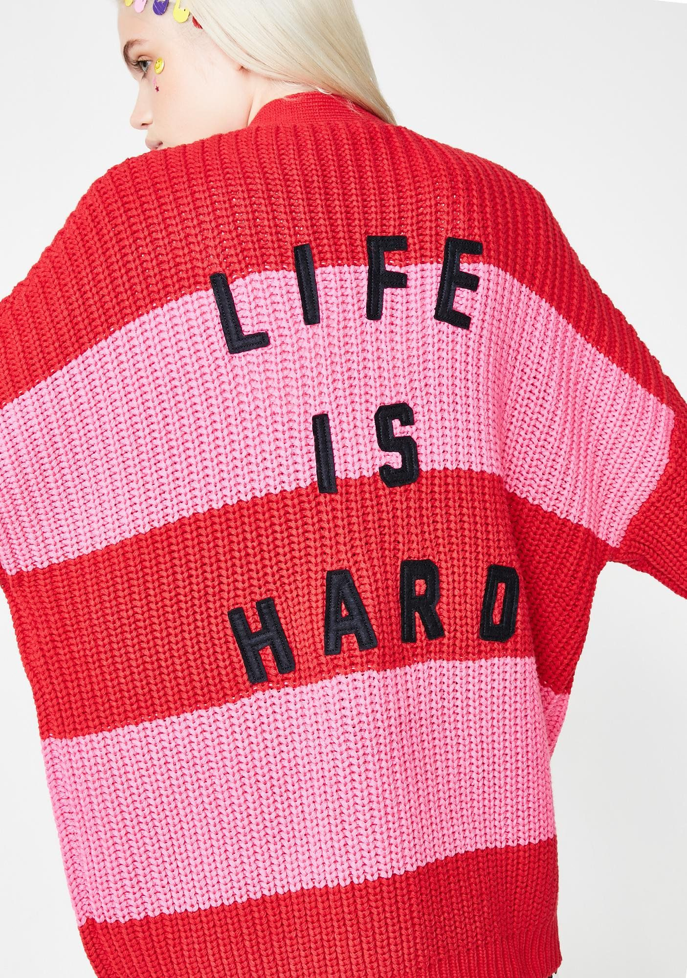 414b74ed22ca Life Is Hard Cardigan   Sweater Weather   Life is hard, Fashion ...