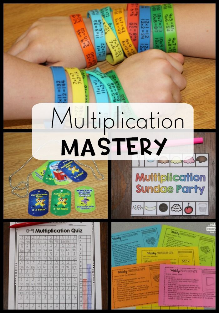 Multiplication Facts for Upper Elementary Students | Teaching Upper ...