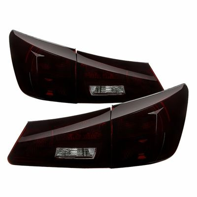 06 08 Lexus Is250 Is350 Is F 08 09 Oem Style Tail Lights Red Smoked Red Smoke Tail Light Lexus Is250