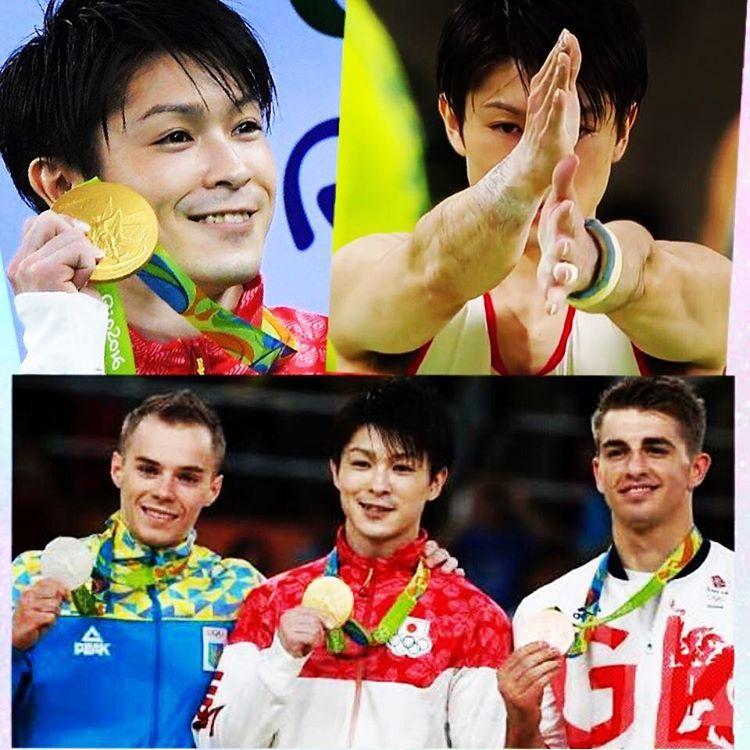 #rio2016 #rio2016olympics  #riodejaneiroolympic  #体操男子個人総合優勝 #体操男子個人総合金メダル #体操男子日本 #koheiuchimura #gymnastics #goldmedal #goldmedalist #体操男子日本 #内村航平選手#内村航平 #congratulation  I've been loving him. おめでとう ありがとう #他にもたくさんの素晴らしい試合ありますが #やはり体操男子個人総合 #内村航平選手 #ずっと好きなので #すごいすごすぎる #本当におめでとう ciaociao