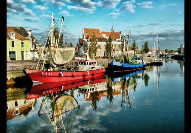 Serie Harlingen - kleurijk Harlingen - National Geographic Nederland/België