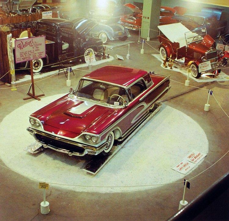 Larry Watson 1958 TBird Custom cars, Vintage cars