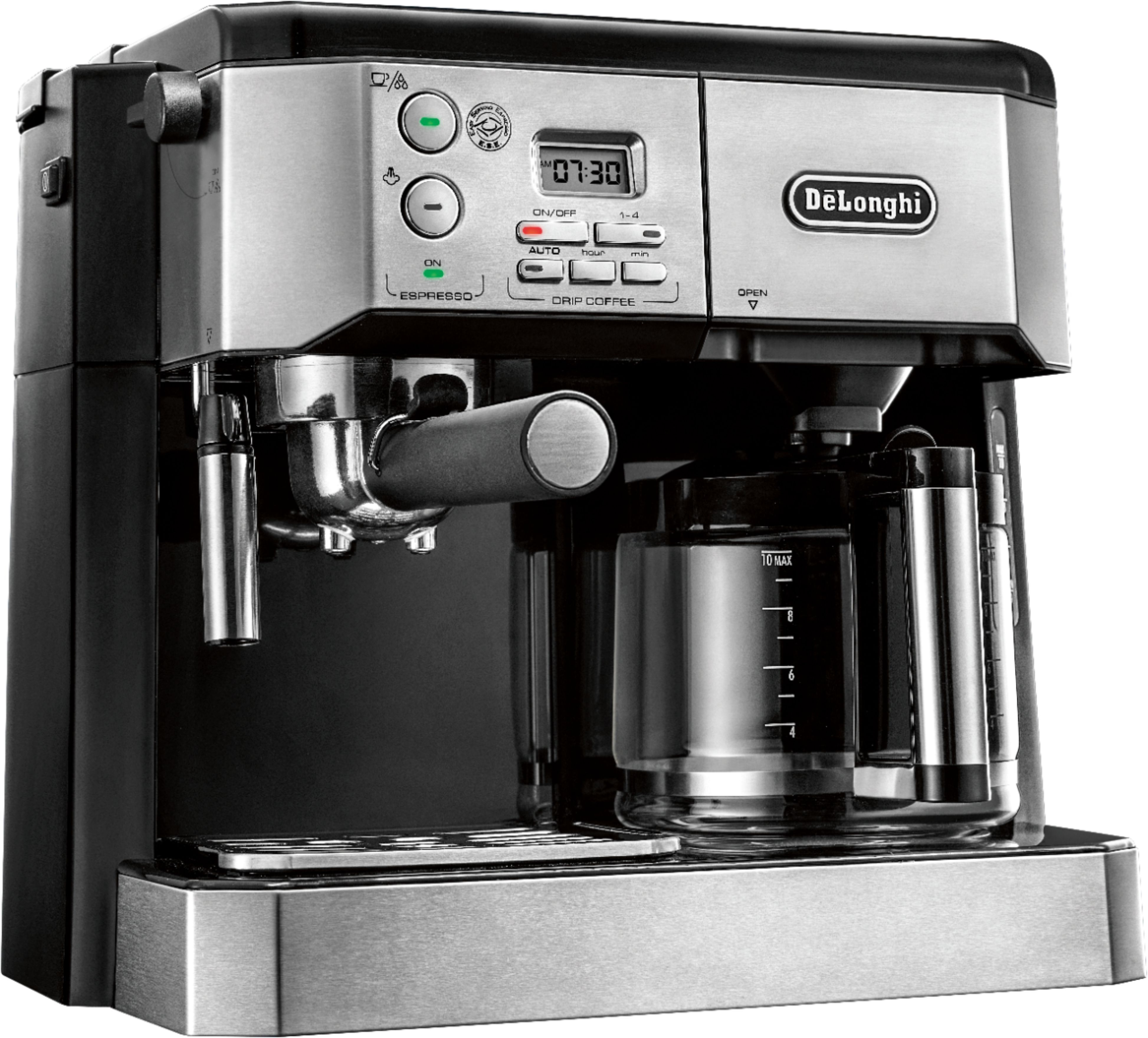 Magnifica S Makes Coffee Beverages In Just One Touch From Freshly Ground Coffee Beans And Brews 2 Espresso Cups Automatic Coffee Machine Coffee Coffee Machine