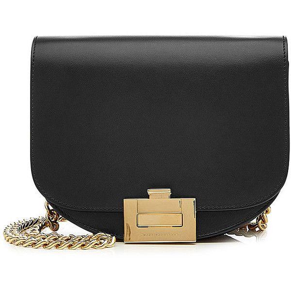 586fce3782 Victoria Beckham Nano Half Moon Box Leather Shoulder Bag ( 1