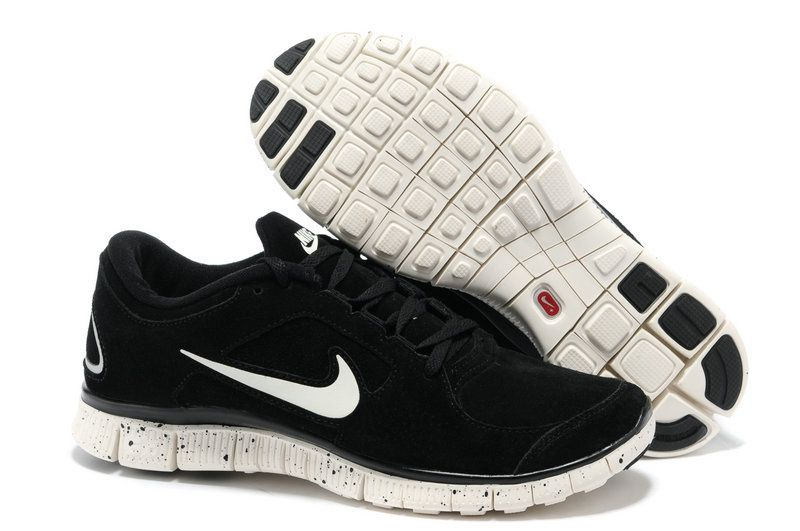 new product d9cce c4302 ... nike free 5.0 v5 blanc hiver noir homme chaussures eur 63.62