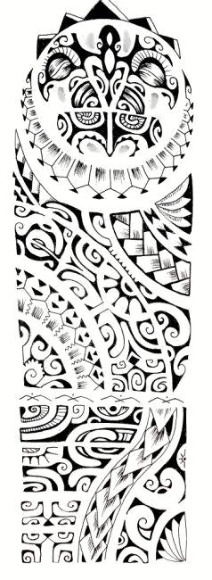 48 Coolest Polynesian Tattoo Designs Tatoos Tribal Tattoos