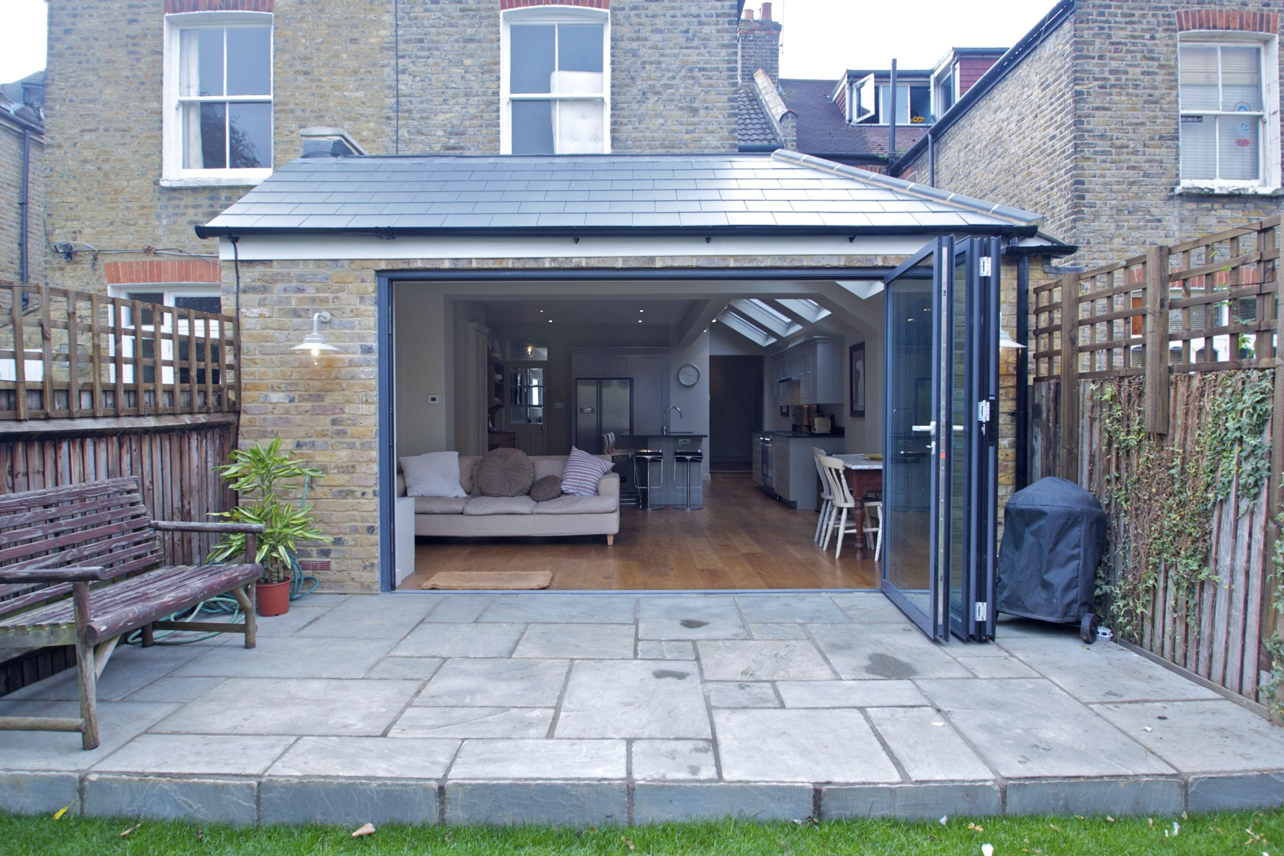 Flat Roof Extension Overhang