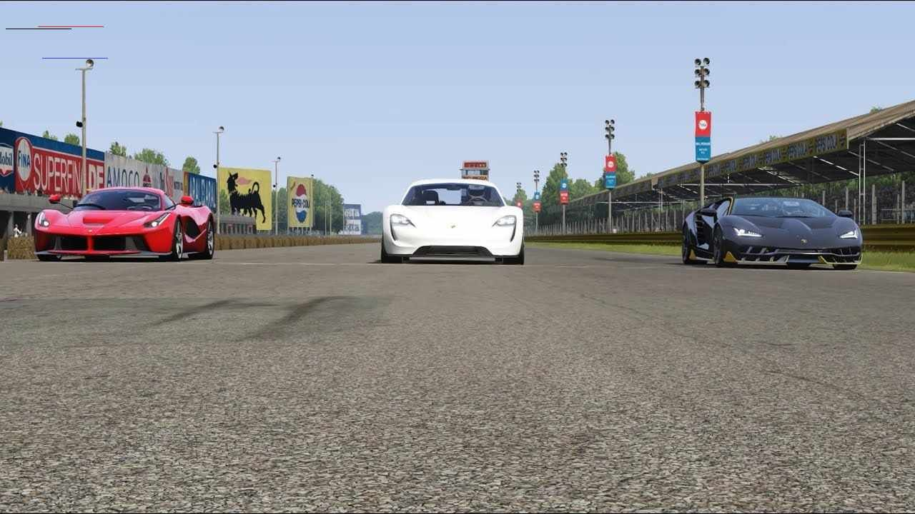 Porsche Mission E Vs Lamborghini Centenario Vs Ferrari Laferrari At Monza Full Course Ferrarilafer In 2020 Ferrari Laferrari Ferrari Convertible Cars Bugatti Veyron