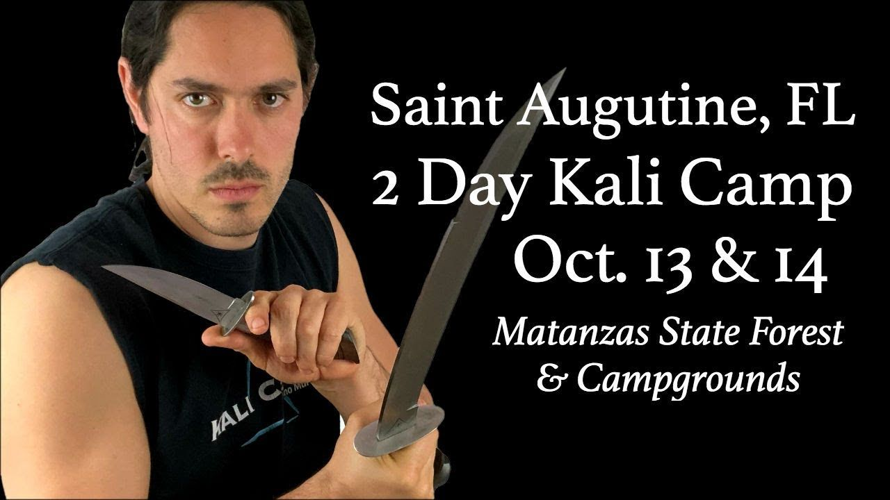 Filipino martial arts saint augustine seminar kali