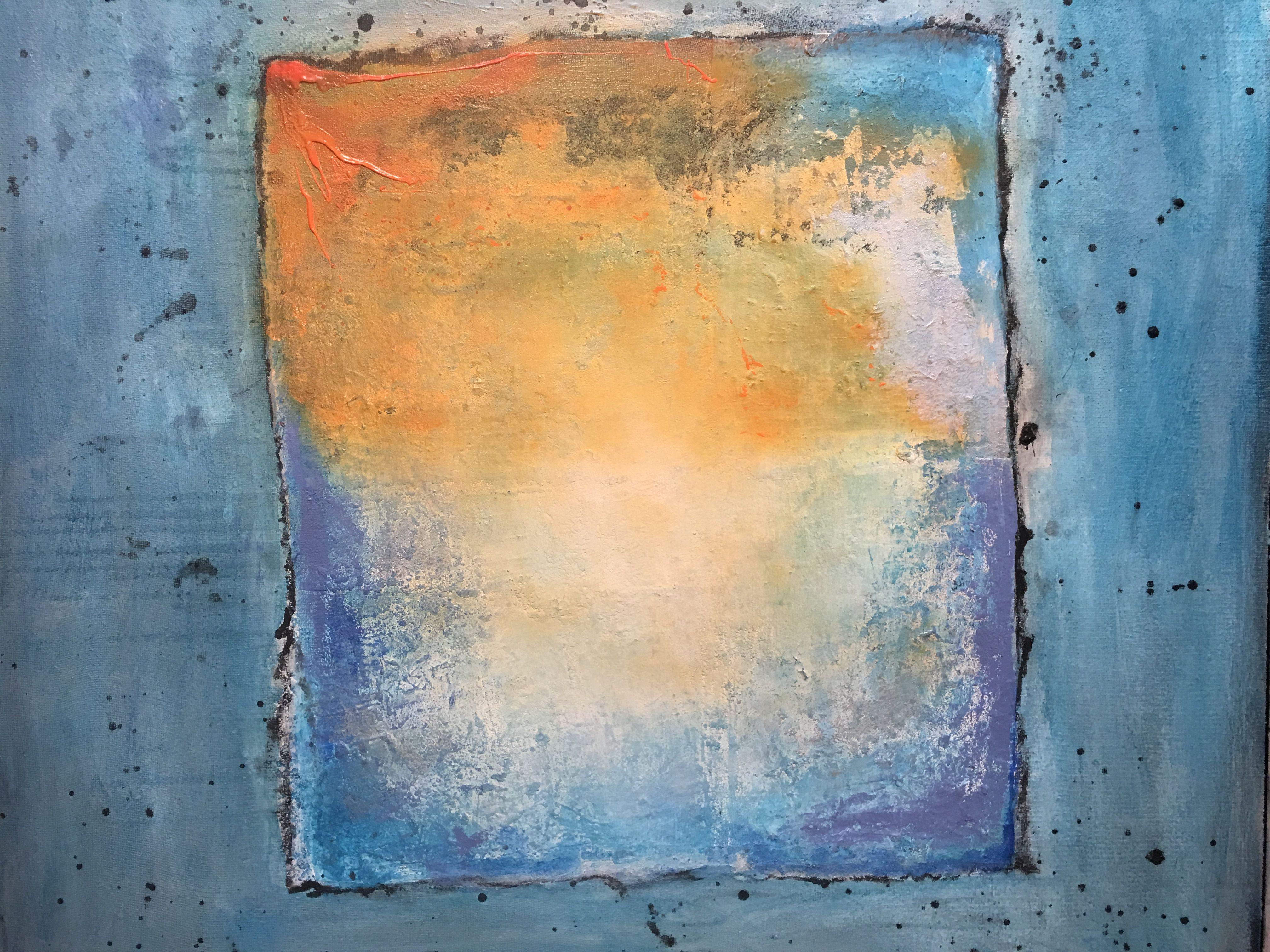 Acryl op paneel door Linda Deckers | Inspiratie | Pinterest | Craft art