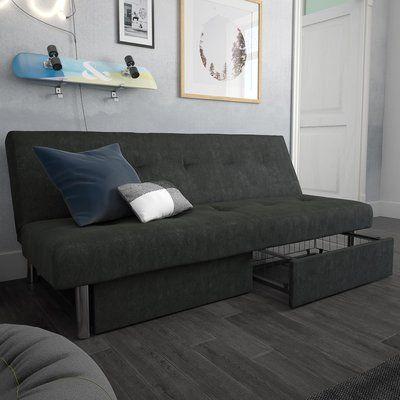 Astonishing Zipcode Design Gebhard Storage Convertible Sofa Futon Sofa Evergreenethics Interior Chair Design Evergreenethicsorg