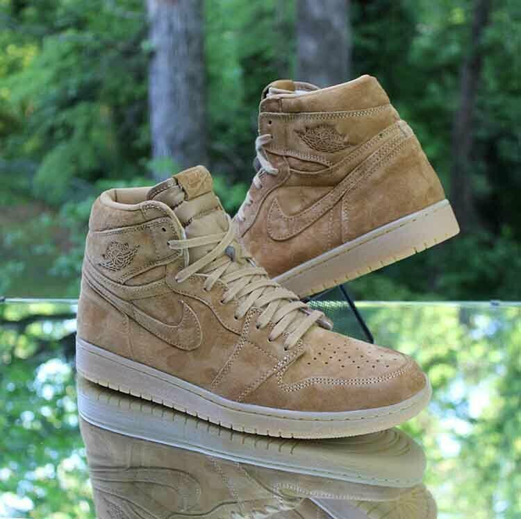 Nike Air Jordan 1 Retro High Men S Size 11 Og Wheat Golden Harvest