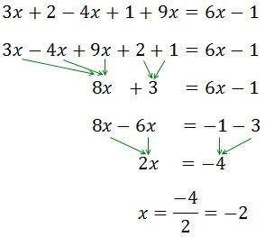 Resolvemos La Ecuación 3x 2 4x 1 9x 6x 1 Matematicas Interactivas Curiosidades Matematicas Educacion Matematicas
