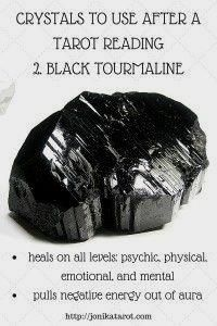 #Crystals to use after a #Tarot reading or spiritual practice: 2.…