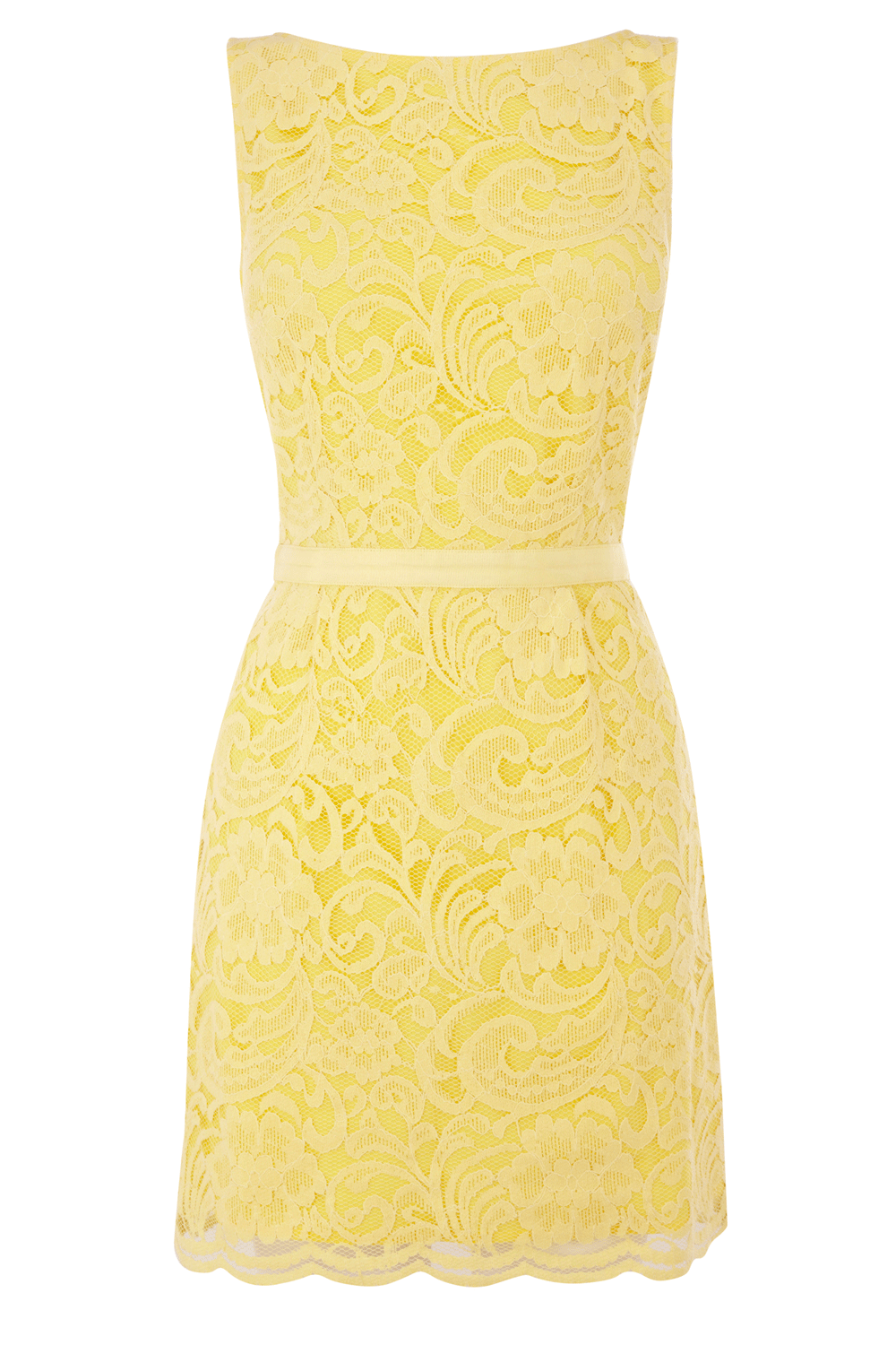 yellow and lace...love
