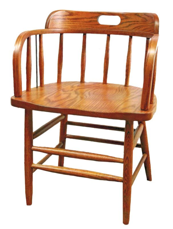 Caboose Chair   Ohio Hardwood Furniture
