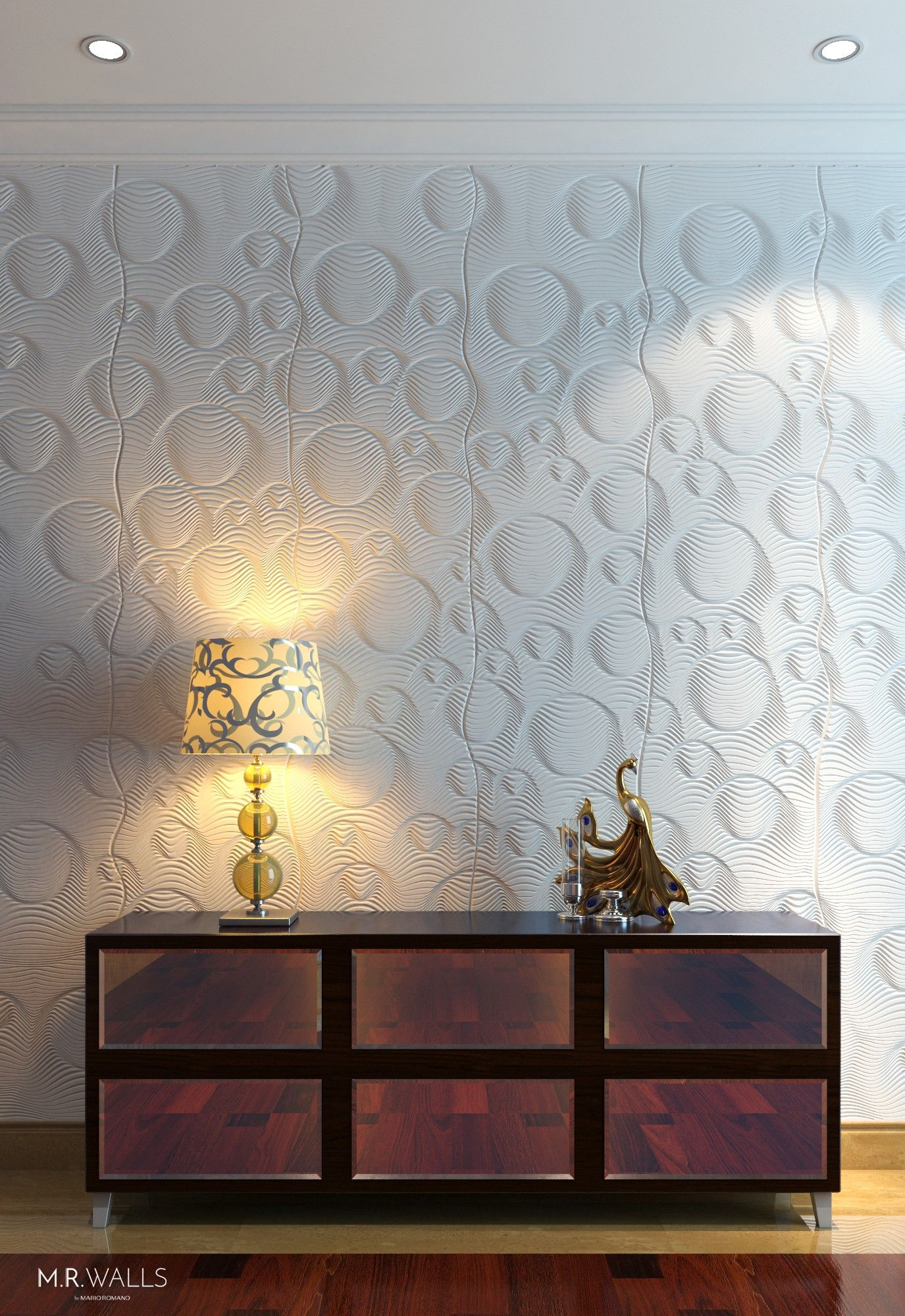 Check Out The Bubbles Wall Paneling By M R Wall Using Corian Wall Paneling Dimensional Wall Wall Design