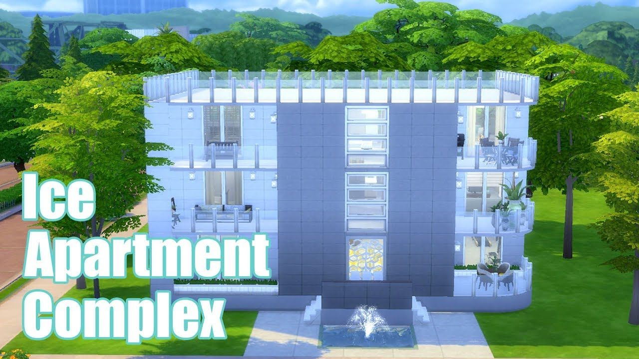 The Sims 4 Ice Apartment Complex Sd Build House