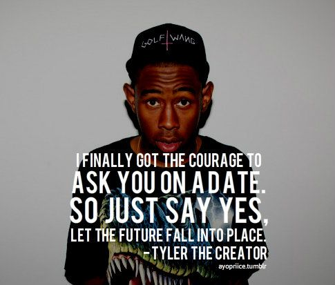 Tyler The Creator Quotes Simple Yes  Dgk & Ofwgkta  Pinterest  Odd Future Decorating Design