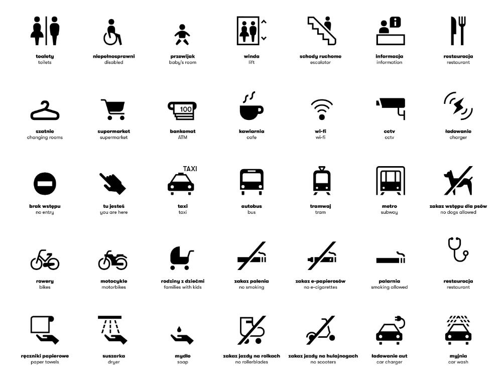 Galeria Młociny on Behance in 2020 Graphic design