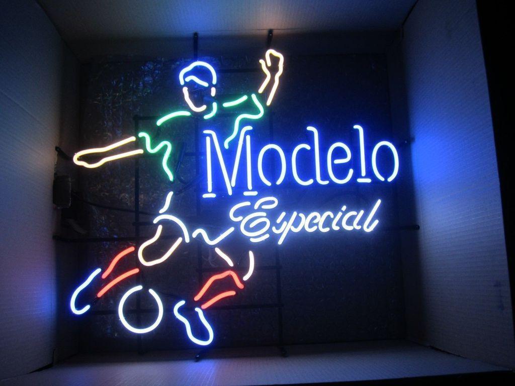Modelo Especial Soccer Neon Sign | Neon signs, Custom neon