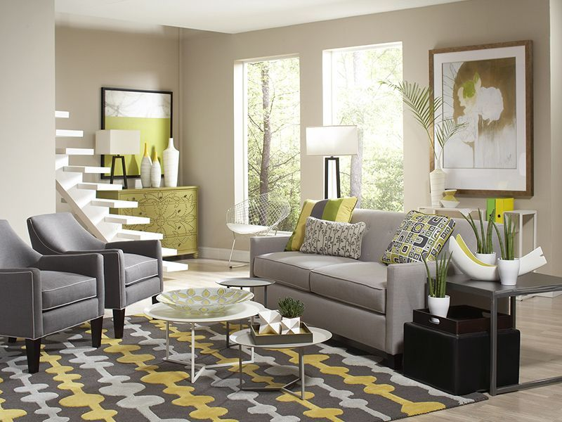 Rent the greyson sleeper with tam tables living room also