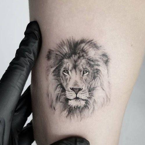 Photo of Tatouage cool petit lion pour homme #cool #petit #lowentattoo #manner