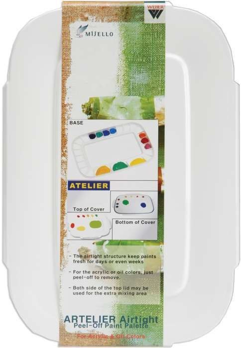 Martin F Weber Artelier Airtight Peel Off Paint Palette The Airtight Structure Of This Palette Keeps Your Paints Fresh For Day See Details 29 99 Met Afbeeldingen