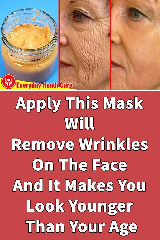 Apply This Mask Will Remove Wrinkles On The Face A