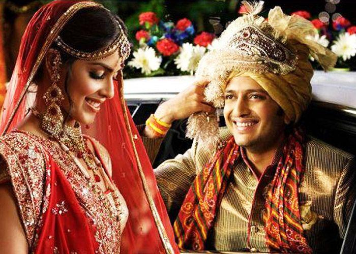 The Fat Indian Wedding Of Genelia Ritesh Celebritywedding