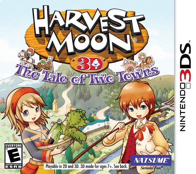 Harvest Moon Tale Of Two Towns 3ds Game Harvest Moon Harvest