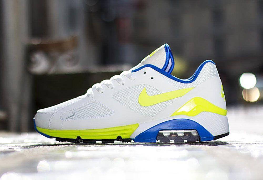 low priced 9c30d ecfc5 Nike Air Max Terra 180 QS   Hot Lime   Blue Sapphire