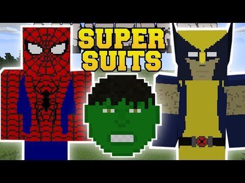 minecraft super suits mod