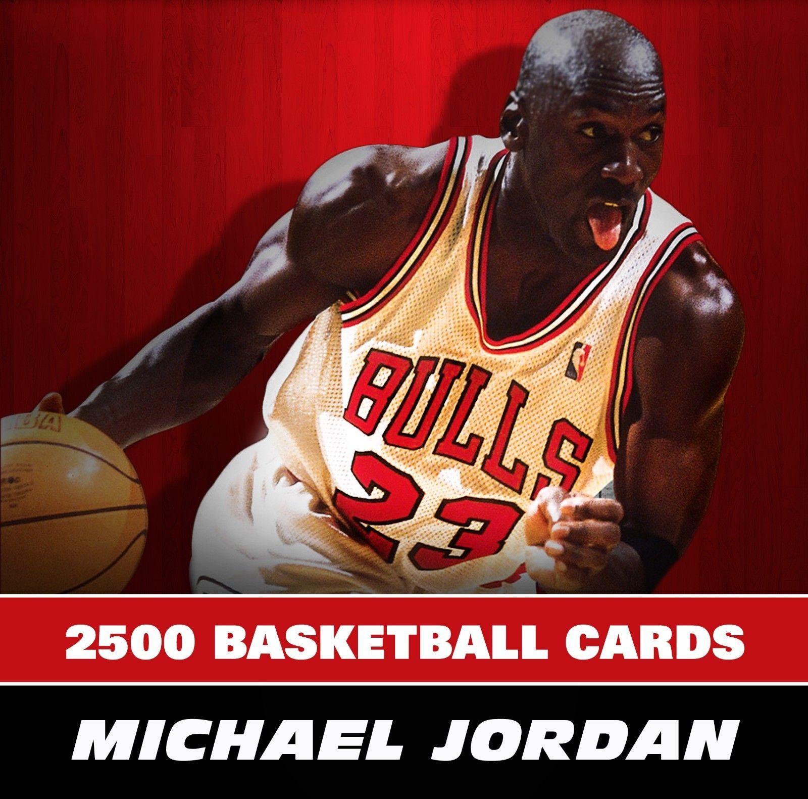 2500 Michael Jordan Huge Basketball Card Lot Collection Ebay Michael Jordan Basketball Cards Michael Jordan Basketball Cards