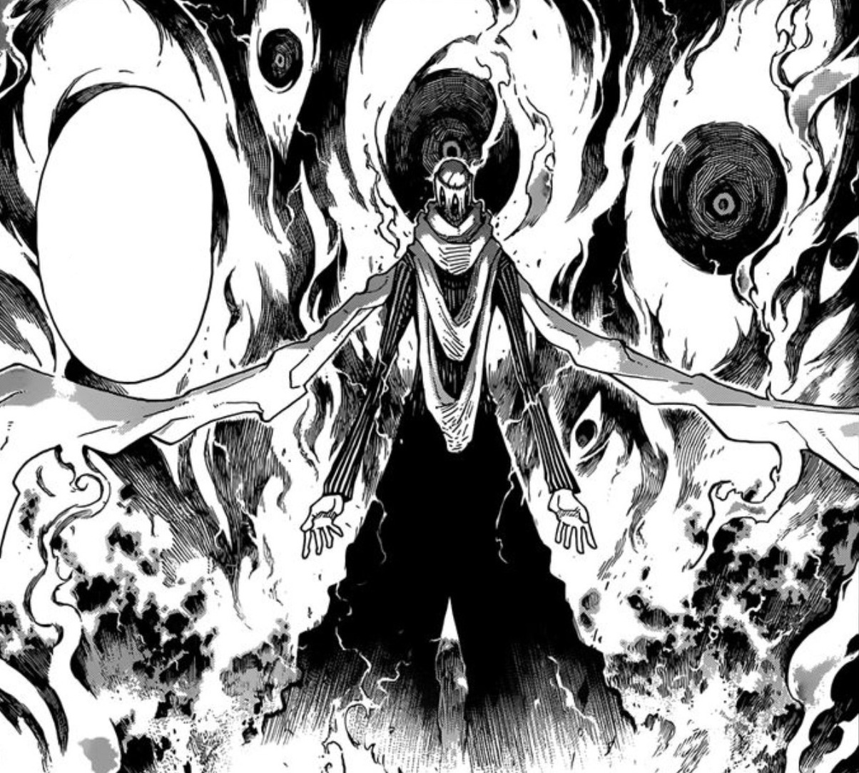 Kishin Eyes | ... Kishin opens an eye of sorts intospace from within which he unleashes