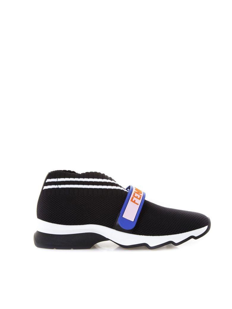 19b2739c5f5cd2 Best price in the market for Fendi Fendi Love Sneakers In Black Yarn