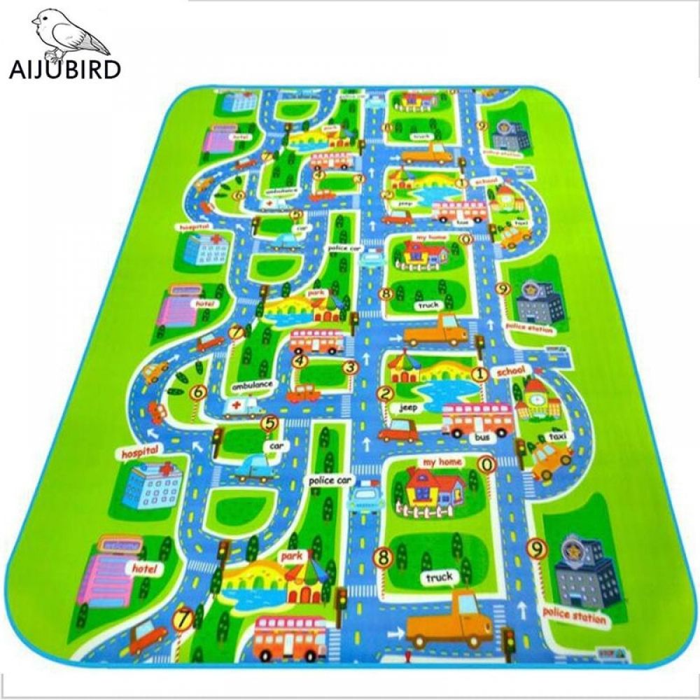 City Road Carpet Toys For Kids Rugs Baby Play Mats Baby Toys Developing Children S Urban Rail Transportation Game Carpet Eva Baby Play Baby Play Mat Childrens Mats