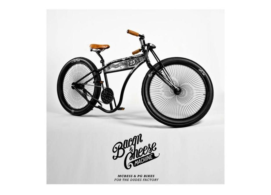 The Bacon & Cheese Machine by McBess & PG Bikes -- So frickin' cool!