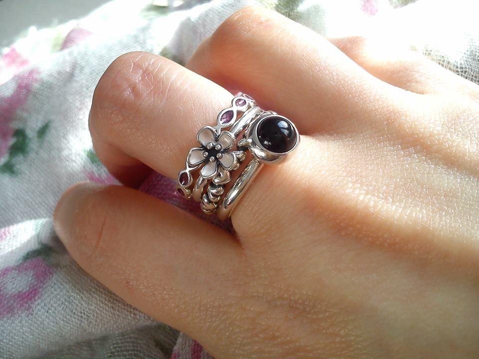 fbfa5c50d ... Pandora ring stack PANDORA Ring Laurel ...